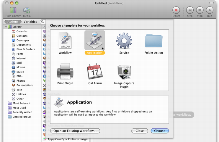 ESD - fScanX Automator Action: Save Common Settings